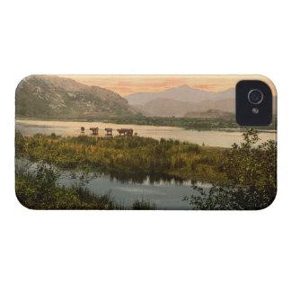 Snowdon from Glaslyn, Gwynedd, Wales iPhone 4 Cover