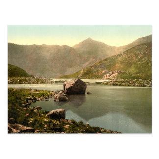 Snowdon from Llyn Llydaw, Gwynedd, Wales Postcard