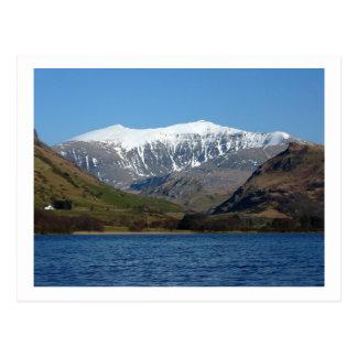 Snowdon from Llyn Nantlle Uchaf Postcard