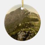 Snowdon - la milla pasada, Gwynedd, País de Gales Ornamentos Para Reyes Magos