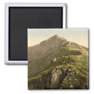 Snowdon - The Last Mile, Gwynedd, Wales 2 Inch Square Magnet