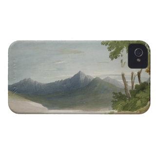 Snowdon (w/c with pencil) iPhone 4 case