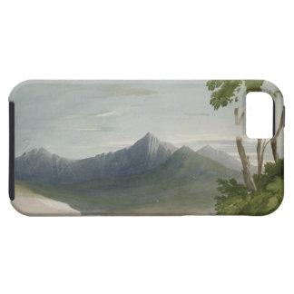 Snowdon (w/c with pencil) iPhone SE/5/5s case