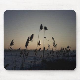 Snowdown Sunset Photo Mouse Pad