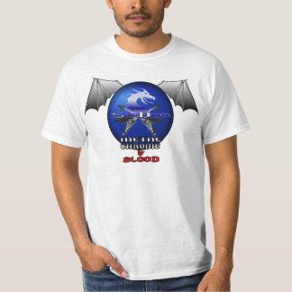 SnowDragon Metal Chrome and Blood tour shirt