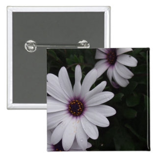 Snowdrift Aster Square Pin