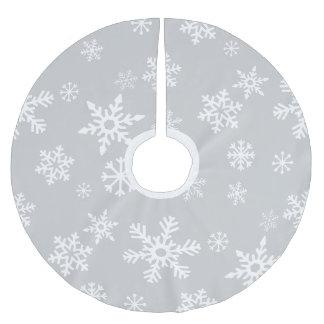 Snowdrift Brushed Polyester Tree Skirt