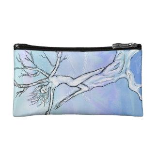 Snowdrift cosmetic bag