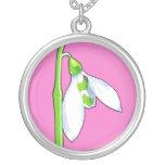 Snowdrop pink Necklace