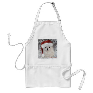 Snowdrop the Maltese Apron