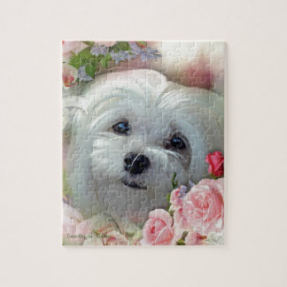Snowdrop the Maltese Jigsaw Puzzle