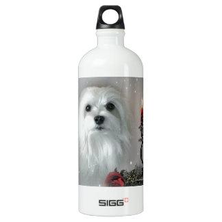 Snowdrop the Maltese SIGG Traveler 1.0L Water Bottle