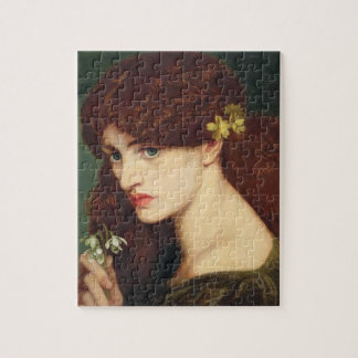 Snowdrops, 1873 (oil on canvas) jigsaw puzzle