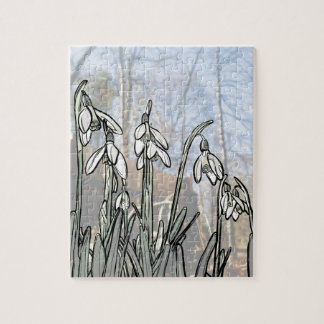 Snowdrops Jigsaw Puzzle