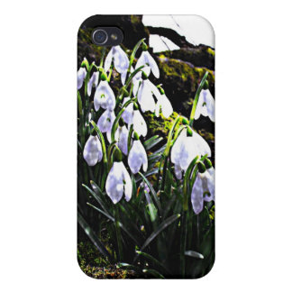 Snowdrops Phone Case For iPhone 4