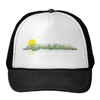 snowdrops trucker hat