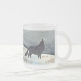 Snowdusted Wolf Mugs