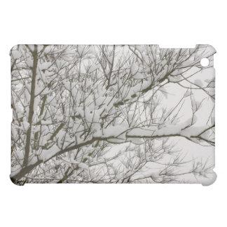 snowed branches iPad mini covers
