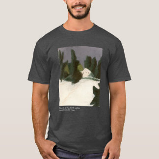 """Snowed In"" Original Artwork on Men's T-Shirt! T-Shirt"