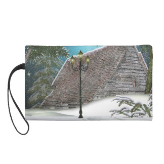 Snowed In Wristlet Purse