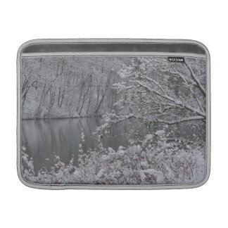 snowed river sleeve for MacBook air