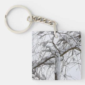 snowed willow acrylic keychains
