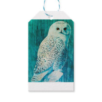SNOWEY OWL GIFT TAGS