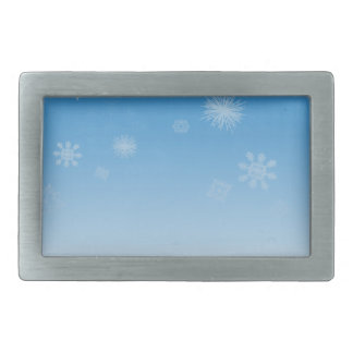 Snowfall Belt Buckle