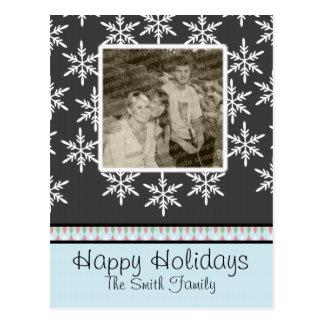 Snowfall BLAST Postcard