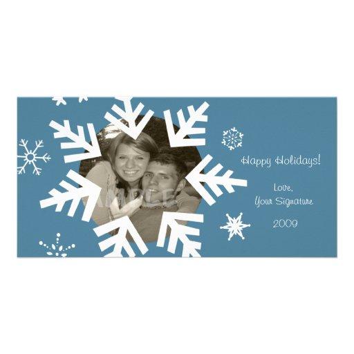 Snowfall FUN!... Photo Card