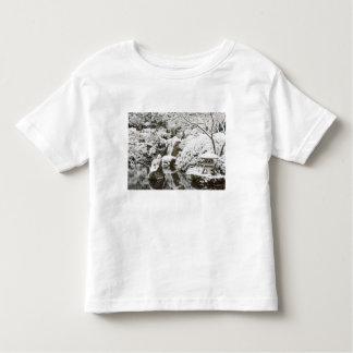 Snowfall in Portland Japanese Garden, 2 Toddler T-shirt