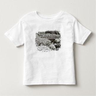 Snowfall in Portland Japanese Garden, Toddler T-shirt
