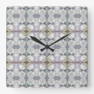 Snowfall in Stockholm Square Wall Clock