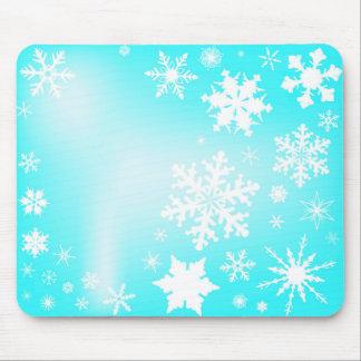 Snowfall Mouse Pad