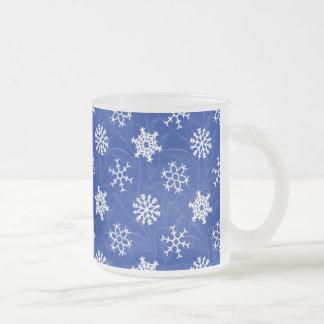 Snowfall Swirl Winter Holiday Mug