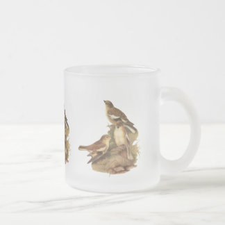 Snowfinch Frosted Glass Coffee Mug