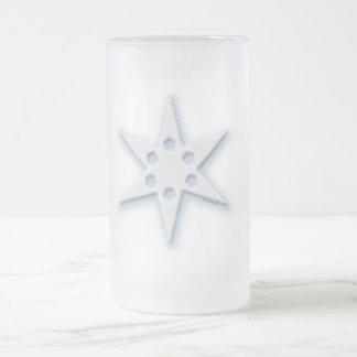 Snowflak Taza De Cristal