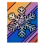 SNOWFLAKE 17 POST CARDS