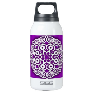 Snowflake #1 insulated water bottle