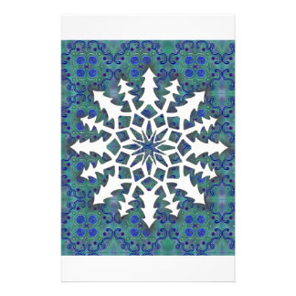 Snowflake #2 stationery