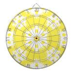 Snowflake 2 Yellow Dart Board