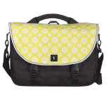 Snowflake 2 Yellow Laptop Commuter Bag