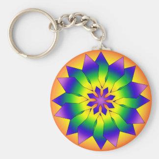 Snowflake 4444 keychain