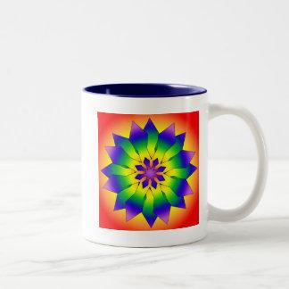 Snowflake 4444 Two-Tone coffee mug
