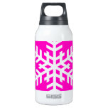 Snowflake 4 Pink SIGG Thermo 0.3L Insulated Bottle