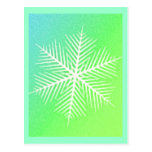 SNOWFLAKE 4 POST CARDS