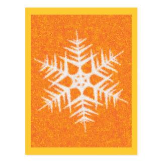 SNOWFLAKE 8 POSTCARD