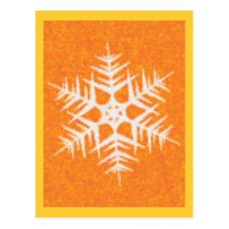 SNOWFLAKE 8 POST CARD