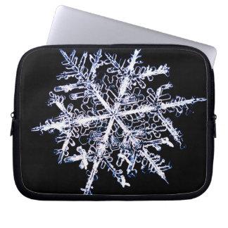 Snowflake 9 computer sleeve