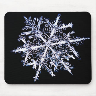 Snowflake 9 mouse pad